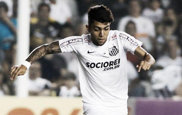 Gabriel encerra série de dez partidas sem marcar e pensa em sequência como titular do Santos