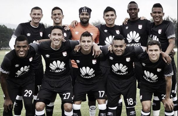 Santa Fe superó 2-0 a Unión Magdalena, en compromiso de pretemporada