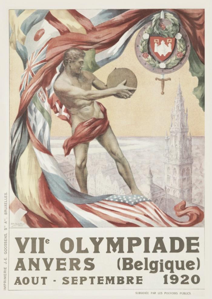 Amberes 1920: Tras la Primera Guerra