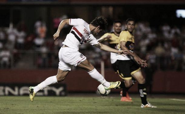 São Paulo domina o jogo, mas cede empate para o Criciúma no Morumbi