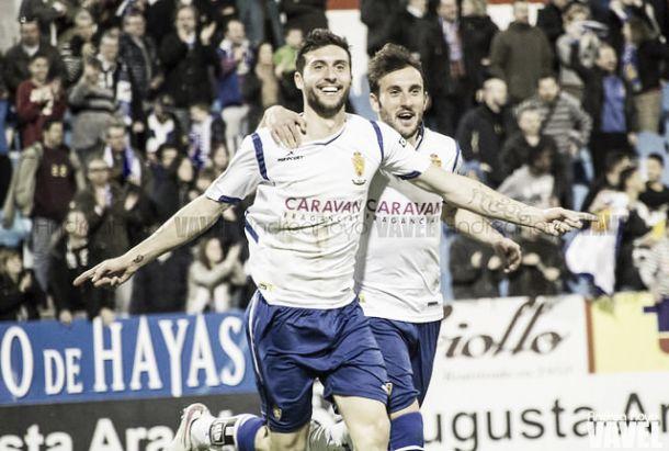 Fotos e imágenes del Real Zaragoza 2-2 UE Llagostera, de la jornada 27 de Segunda División