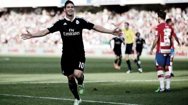 Con James Rodríguez, Real Madrid enfrenta a la Juventus