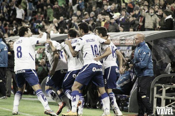 Fotos e imágenes del Real Zaragoza - Real Betis de la 13ª jornada de la Liga Adelante