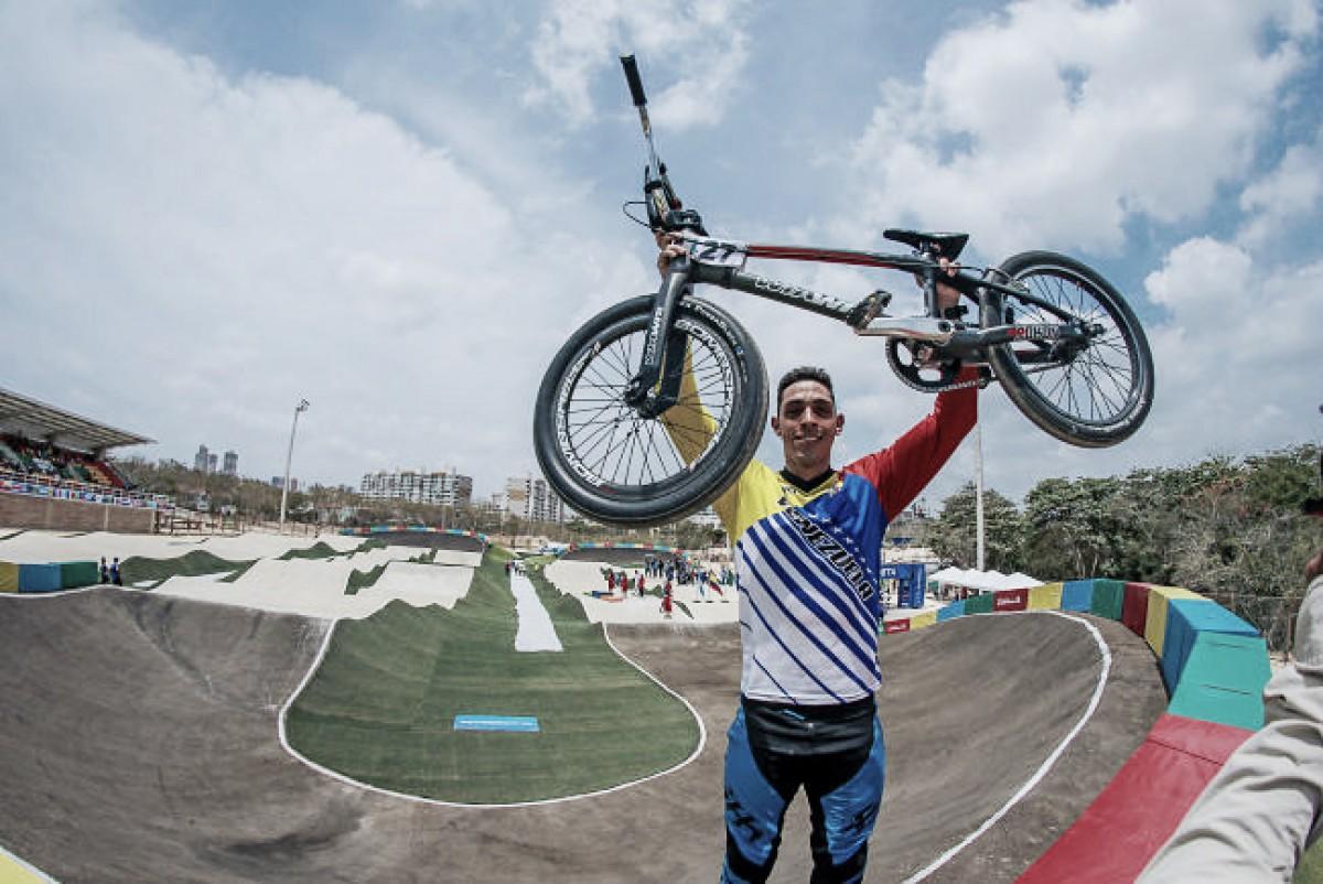 Jefferson Milano campeón del bicicros en Barranquilla