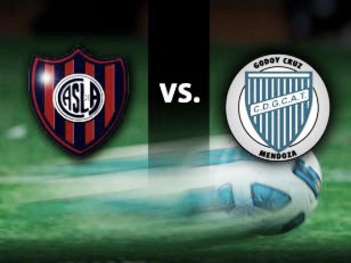 Resumen San Lorenzo vs Godoy Cruz en Octavos de Final de la Copa Argentina 2016 (3-1)