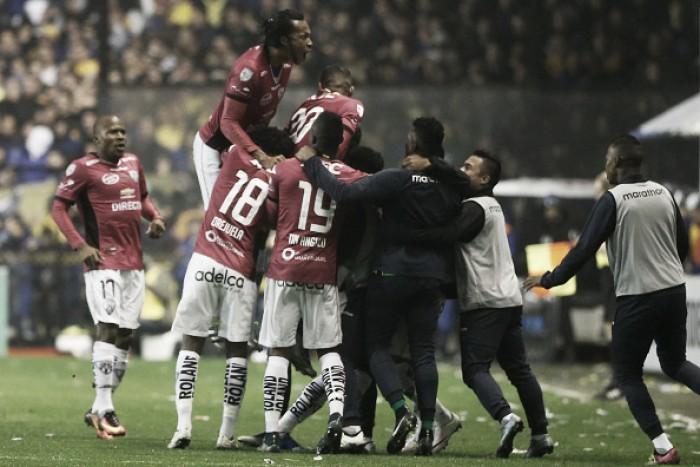 No Equador, Del Valle recebe o Atlético Nacional pela primeira decisão da Copa Libertadores