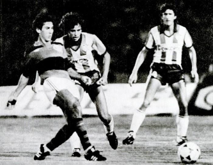 Rivais na Sul-Americana, Flamengo e Junior Barranquilla já se enfrentaram pela Libertadores