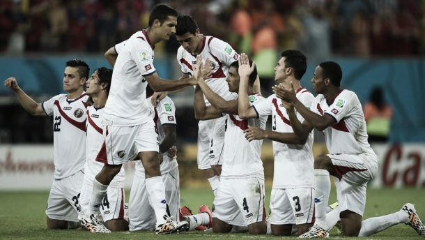 Nas cobranças de pênalti, Costa Rica elimina Grécia e se classifica às quartas-de-final