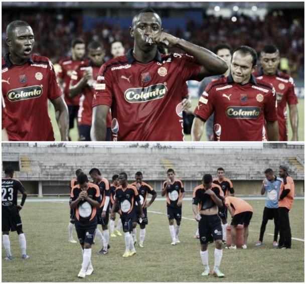 Copa Águila – Medellín - Leones: Historial