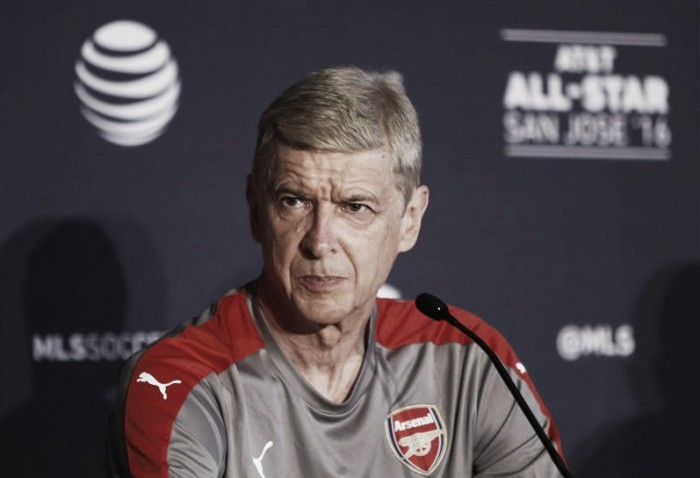 """Arsene Wenger insists Arsenal are """"active in the transfer market"""""""