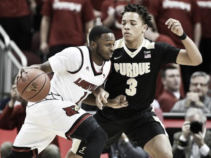 Louisville Cardinals edge Purdue Boilermakers 71-64 in ACC/Big Ten Challenge