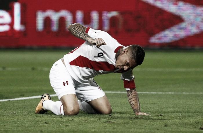 Fifa suspende jogador Paolo Guerrero por doping
