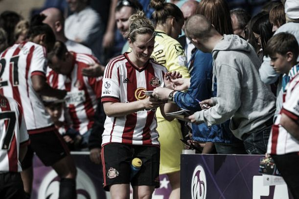 Sunderland Ladies' Greenwell 'proud' of team as she announces retirement
