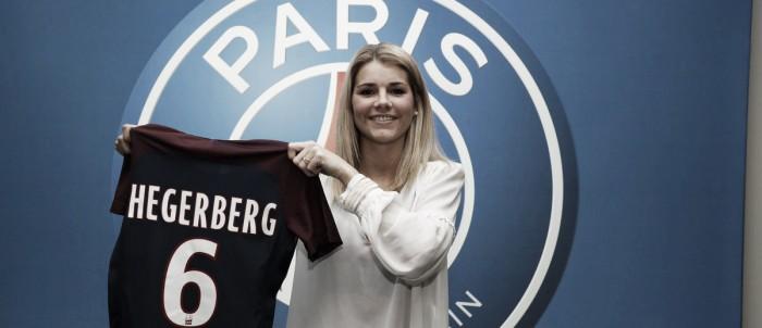 Time feminino do PSG anuncia a contratação da meio campista norueguesa Andrine Hegerberg