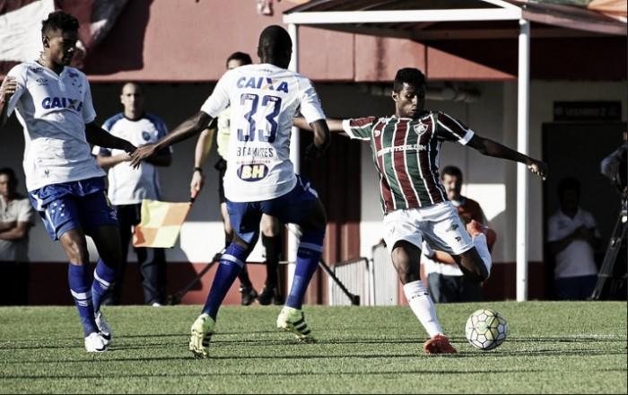 Cruzeiro x Fluminense no jogo Brasileirão 2016