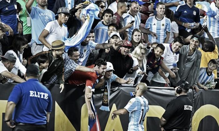 Argentinos citam Che Guevara em música e provocam Estados Unidos na Copa América Centenário