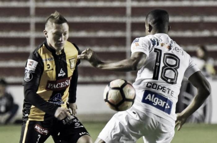 Santos empata herocaimente com The Strongest e vai às oitavas da Libertadores