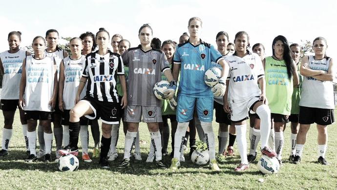 Botafogo-PB realiza seletiva para a equipe de futebol feminino