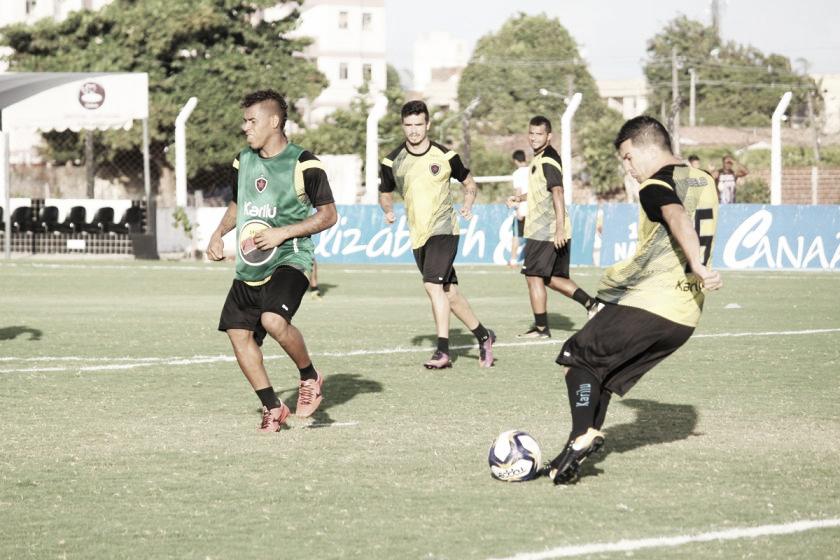 Botafogo-PB encerra preparação para duelo contra Perilima