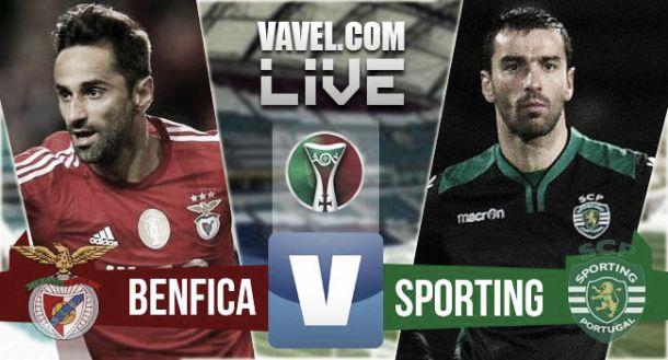 Partida Benfica x Sporting na Liga NOS 2016