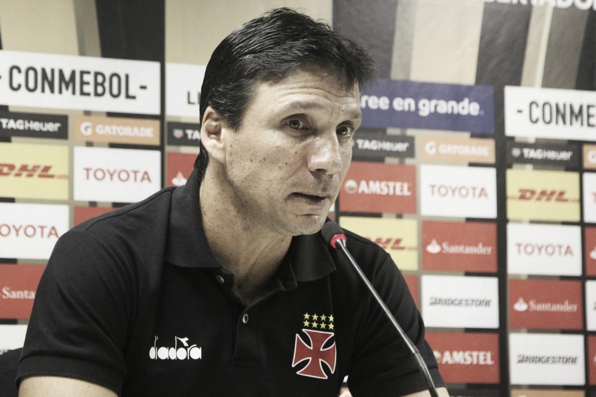 Após eliminação na Libertadores, Zé Ricardo pede atenção para Copa do Brasil e Brasileirão