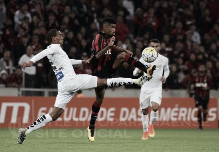 Santos terá o Atlético-PR pela frente nas oitavas da Libertadores