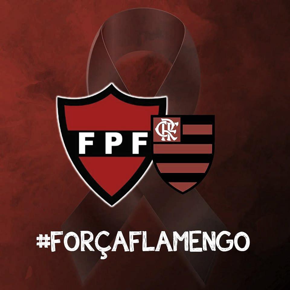 Federação Paraibana de Futebol decreta luto oficial por tragédia no NInho do Urubu