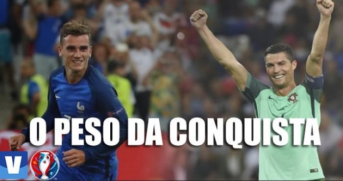 Título da Eurocopa traz um peso a mais para Cristiano Ronaldo e Griezmann