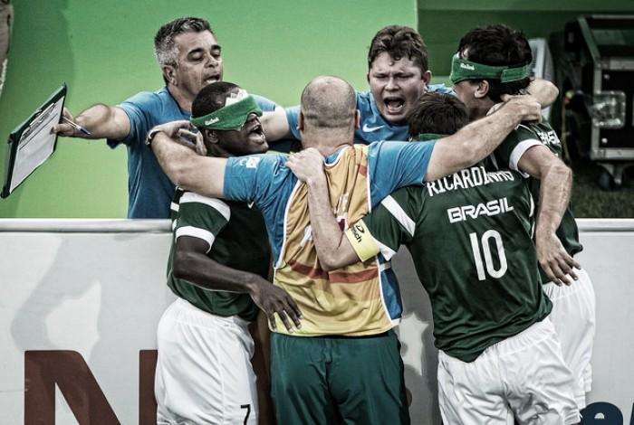 Brasil bate Irã pelo placar mínimo e conquista tetracampeonato paralímpico no Futebol de 5