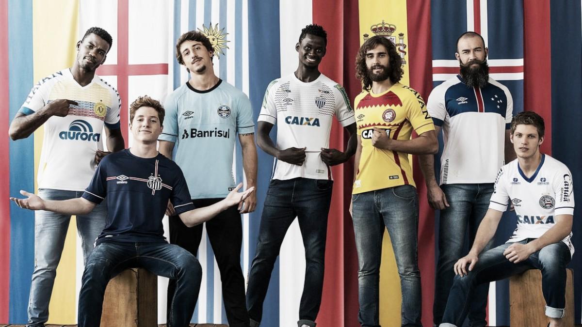 Umbro Nations: fornecedora lança camisas em homenagem às seleções que disputarão a Copa