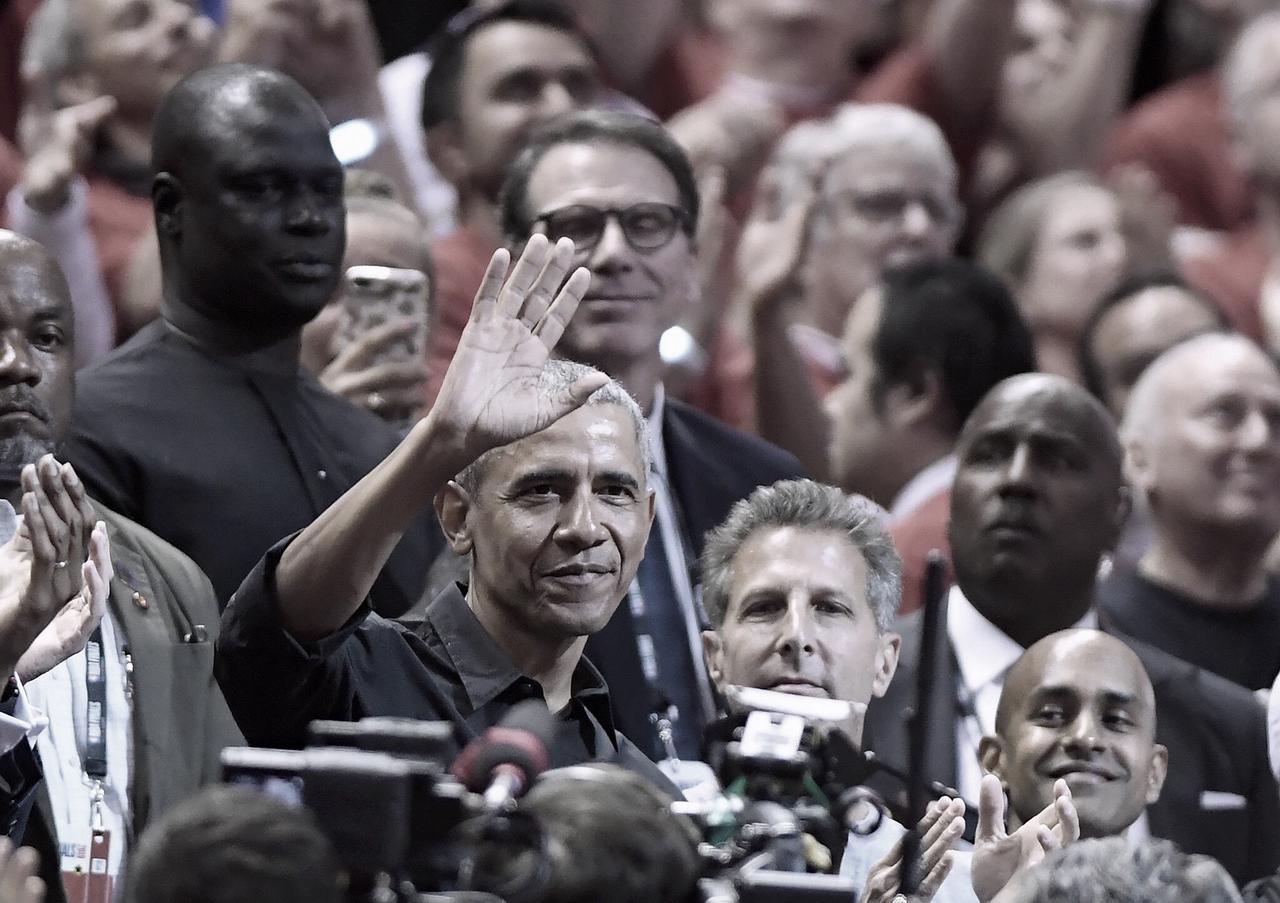 Las celebridades visitan Toronto para las Finales de la NBA