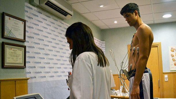 Primeras revisiones médicas en el Obradoiro CAB