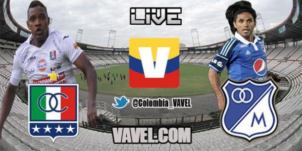 Once Caldas vs. Millonarios, Liga Postobón en vivo online