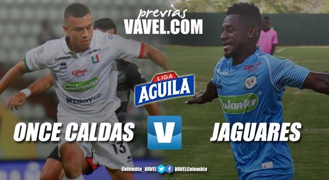Previa Once Caldas vs Jaguares: por tres puntos que acerquen la clasificación