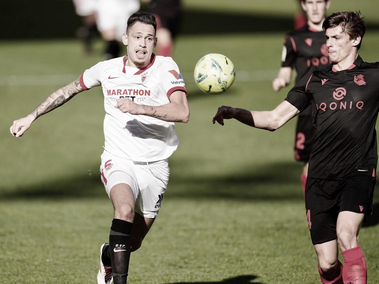 El Sevilla, contra equipos vascos