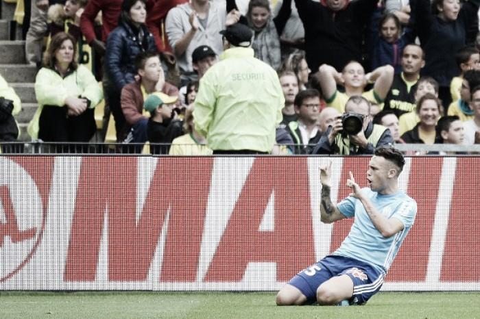 Ocampos marca no fim, Marseille bate Nantes e mantém 100% na Ligue 1