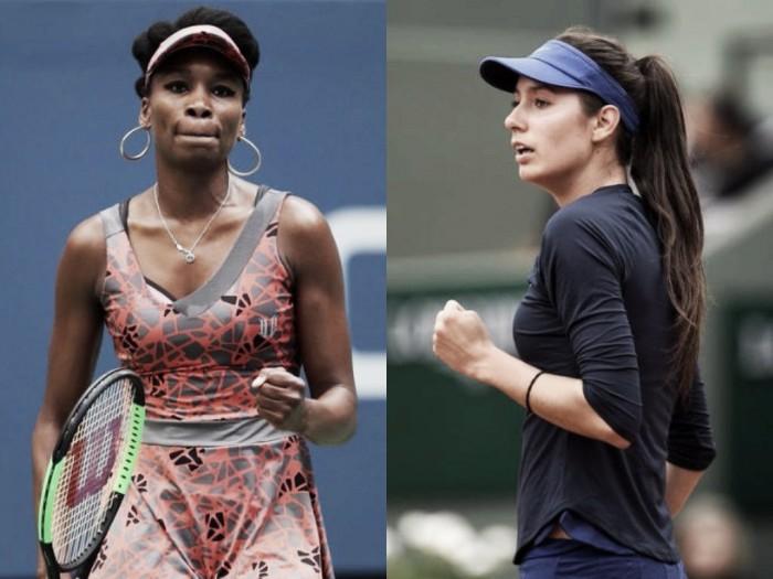 US Open second round preview: Oceane Dodin vs Venus Williams