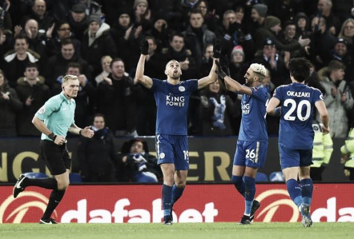 Com segundo tempo fantástico, Leicester bate Huddersfield e se recupera de derrota para Liverpool