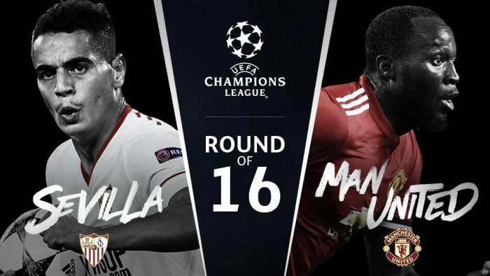 El Sevilla se enfrentará al Manchester United en los octavos de final de la Champions