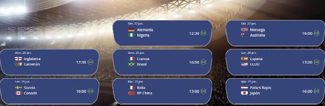16 selecciones buscan el pase a cuartos de final del Mundial femenino