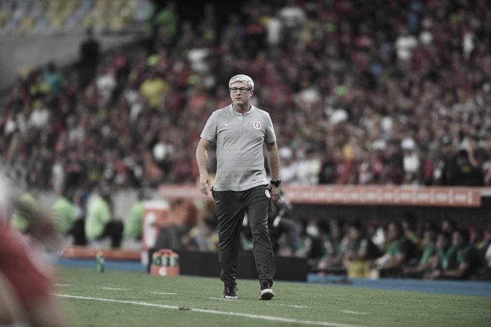 """Após derrota para o Flamengo Odair afirma: """"A classificação não está resolvida"""""""