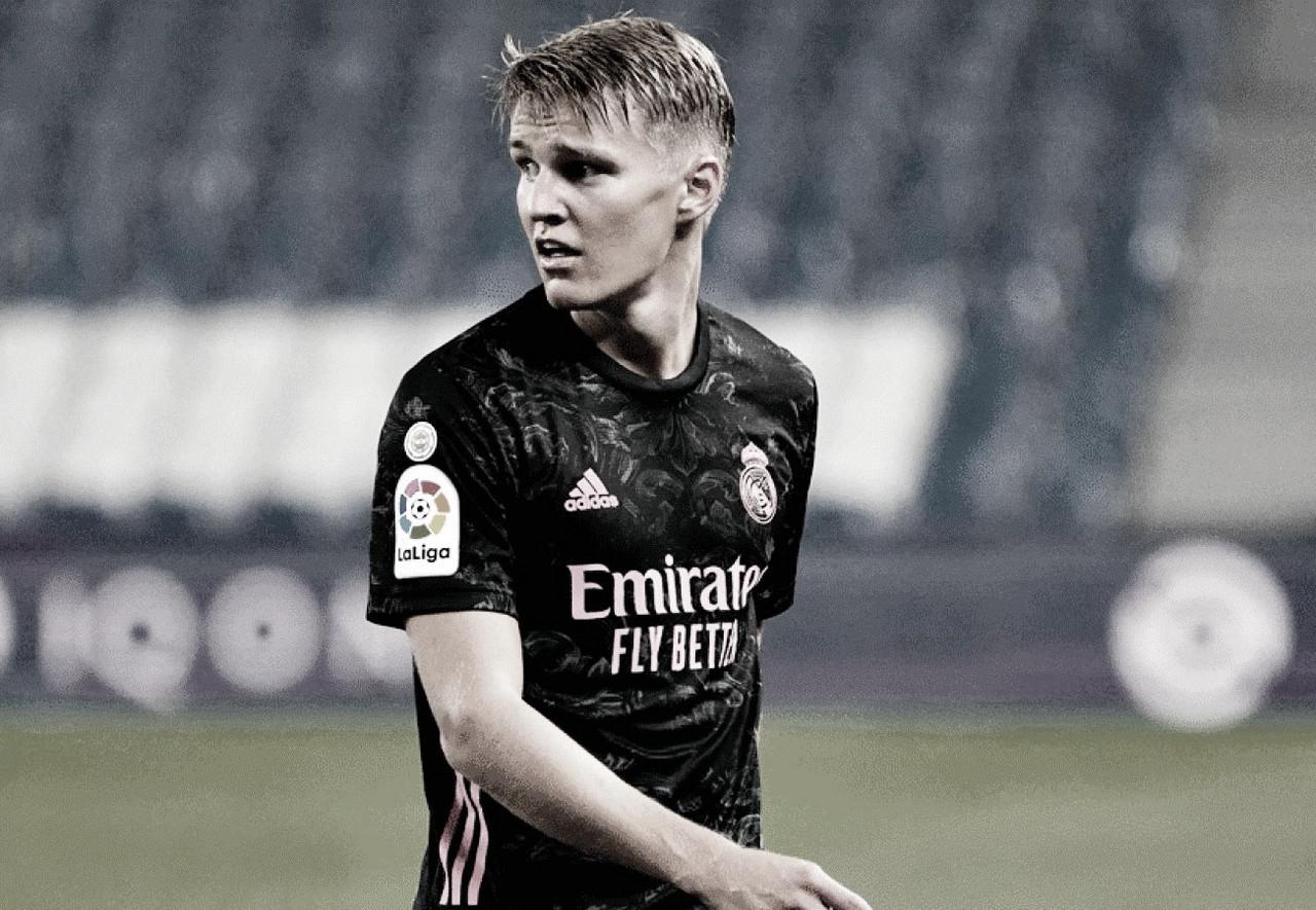 Ødegaardjugó apenas 9 partidos en la temporada. Foto: El Español