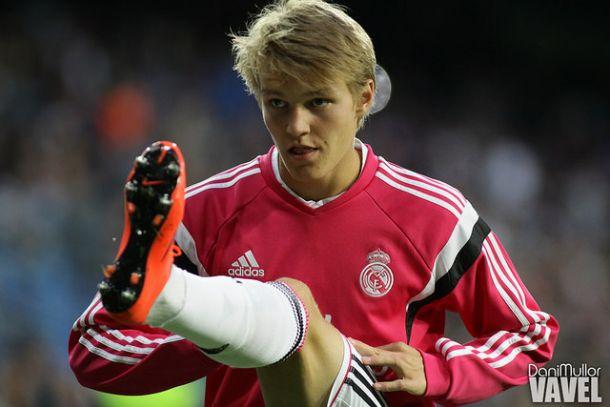 Mayoral y Odegaard, en la lista del Madrid para la Champions