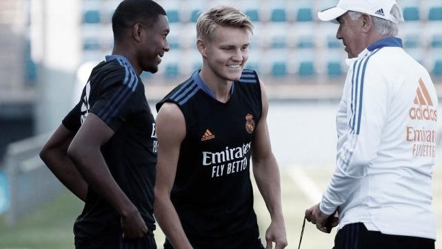 Odegaard y Ceballos no tendrán posibilidades de salir del Real Madrid