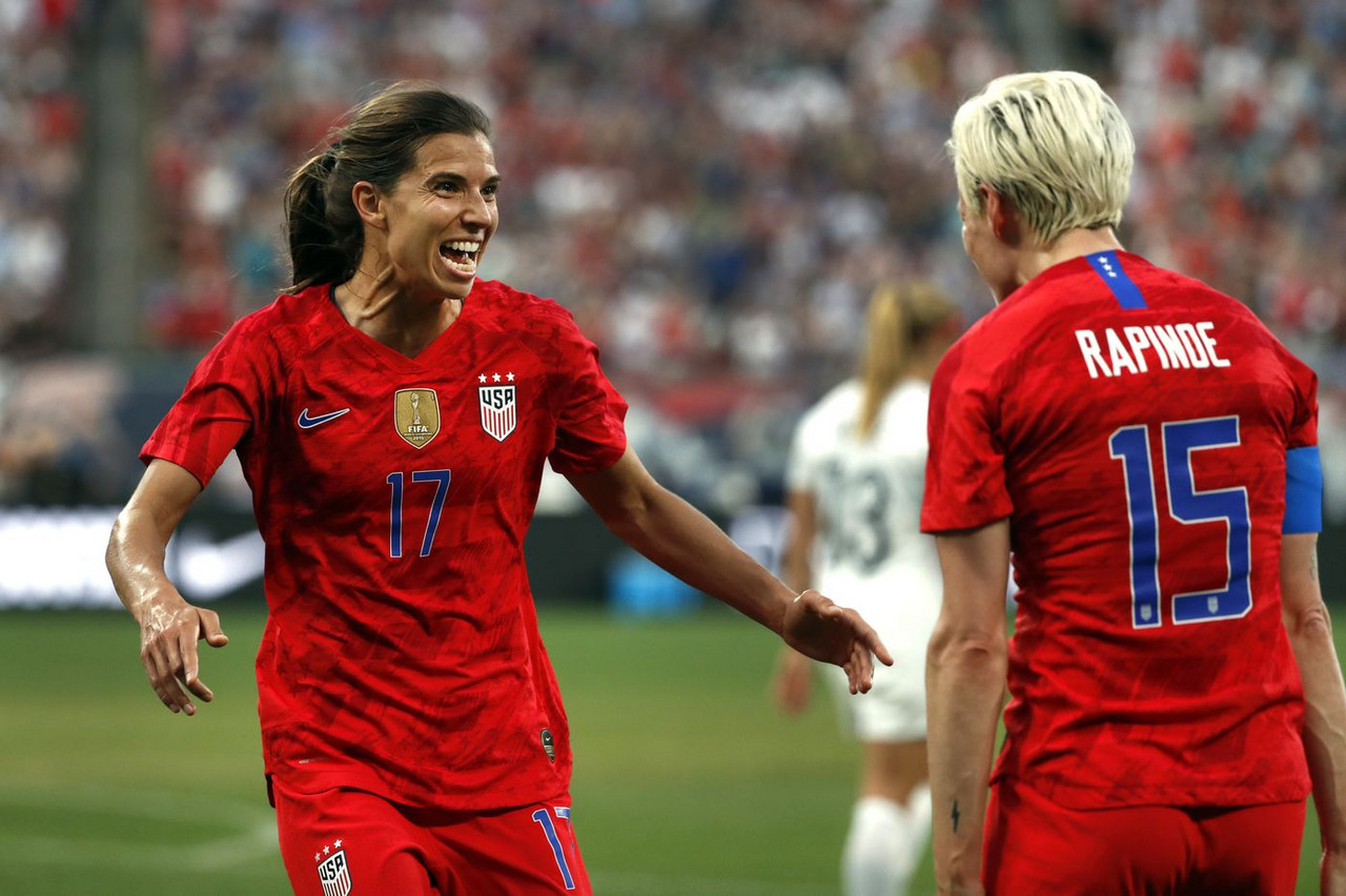 The USWNT dismantle New Zealand with a 5-0 win