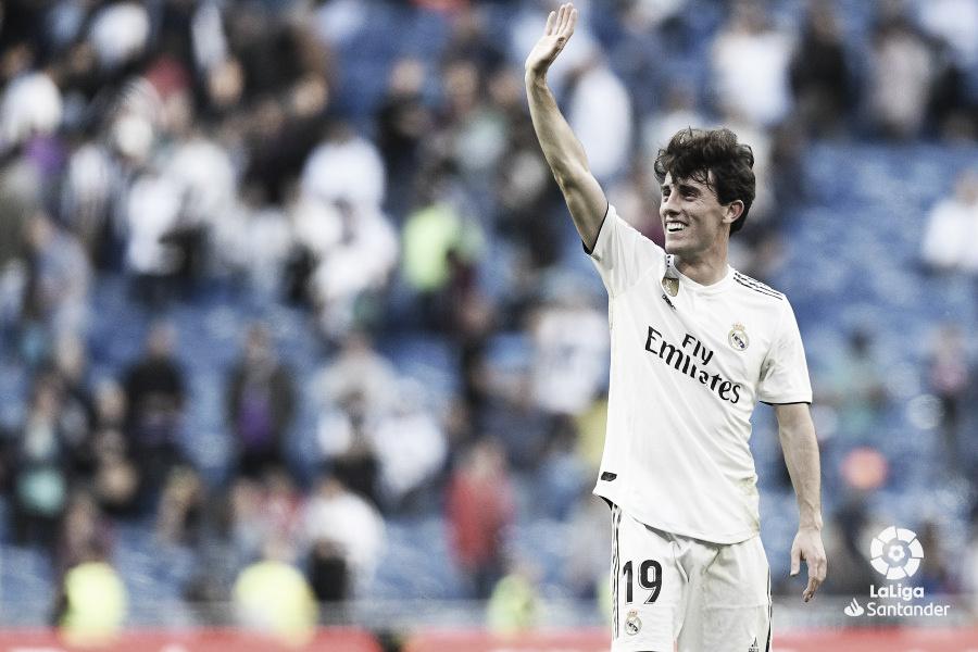 """Odriozola: """"Zidane no quería que yo saliera, pero lo entendió perfectamente"""""""