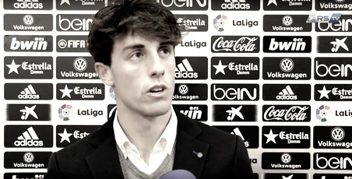"""Álvaro Odriozola: """"Los tres puntos de Mestalla saben a gloria"""""""