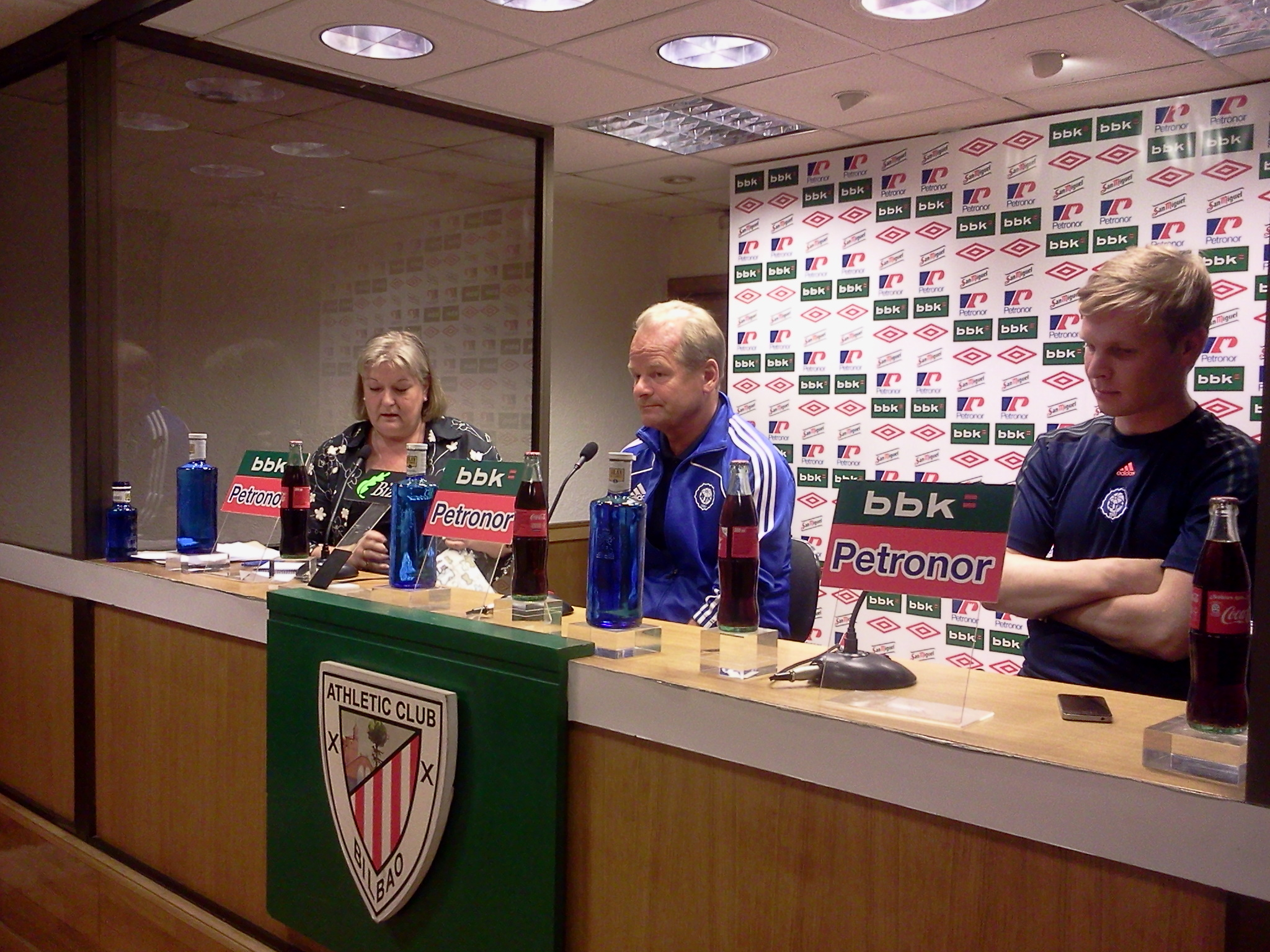 Convocatoria del Athletic para el partido ante el HJK Helsinki