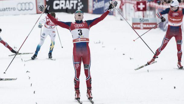 Sci di Fondo, a Davos sinfonia norvegese