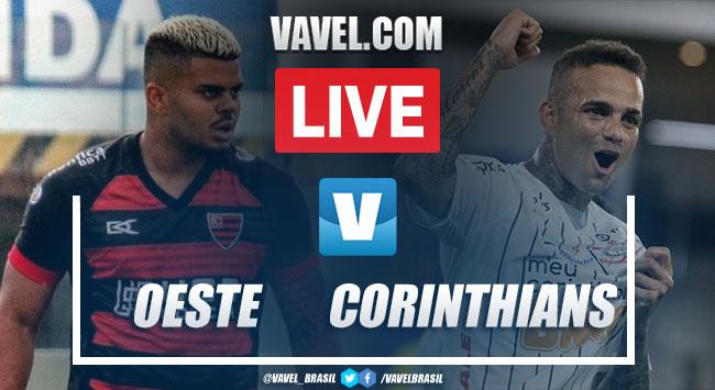 Gols e melhores momentos de Oeste 0 x 2 Corinthians pelo Campeonato Paulista 2020